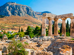 Ancient Corinth Destinations Tours in Greece Peloponnese Epos Travel Tours