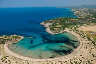 Voidokilia beach Destinations Tours in Greece Peloponnese Epos Travel Tours