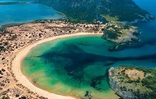 Voidokilia beach Destinations Tours in Greece Peloponnese Epos Travel Tours