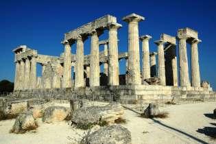 Temple of Afea Aegina Saronic Destinations Tours in Greece Peloponnese Epos Travel Tours