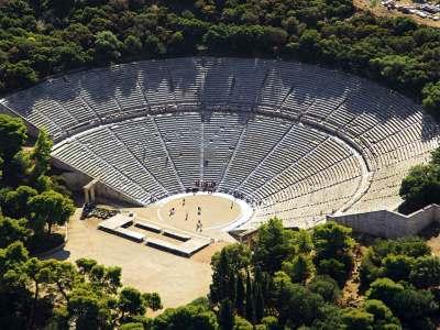 Ancient Epidaurus Destinations Tours in Greece Peloponnese Epos Travel Tours