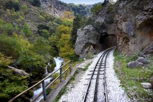 Vouraikos cog railway Destinations Tours in Greece Peloponnese Epos Travel Tours