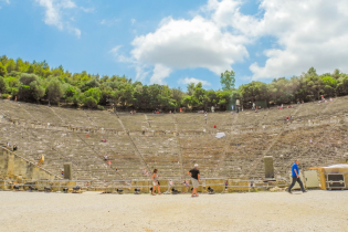 Ancient Epidaurus Theater Destinations Tours in Greece Peloponnese Epos Travel Tours