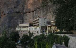 Mega Spilaion Monastery Destinations Tours in Greece Peloponnese Epos Travel Tours