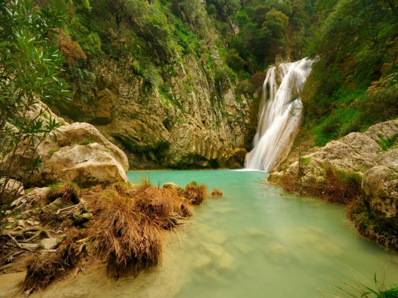 Polylimnio waterfalls Destinations Tours in Greece Peloponnese Epos Travel Tours