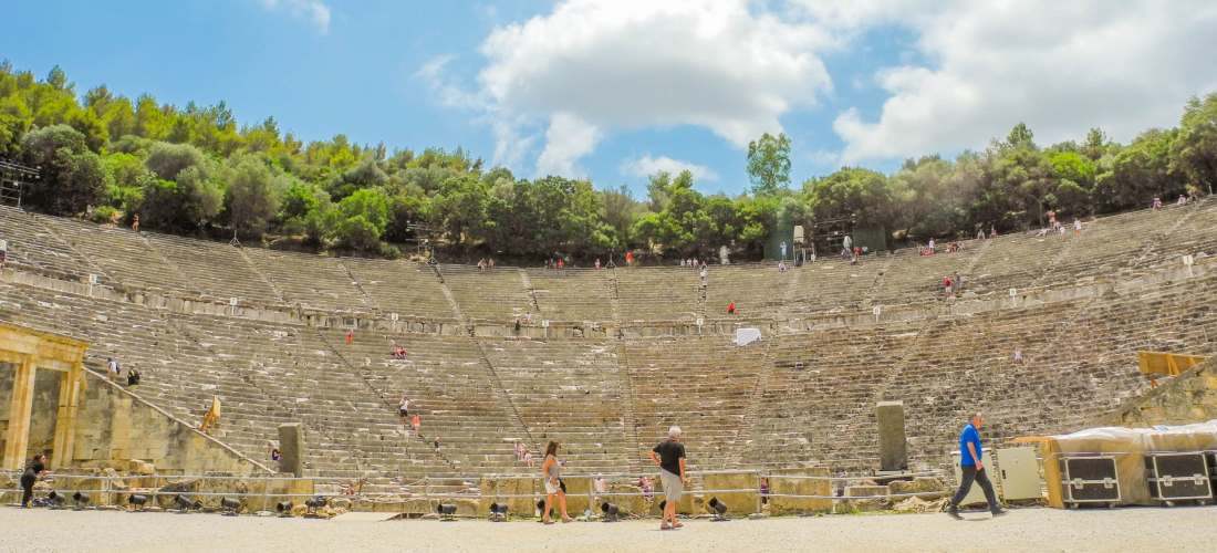 Ancient Epidaurus Destinations Tours in Greece Peloponnese Epos Travel Tours