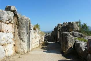 Ancient Tiryns Destinations Tours in Greece Peloponnese Epos Travel Tours