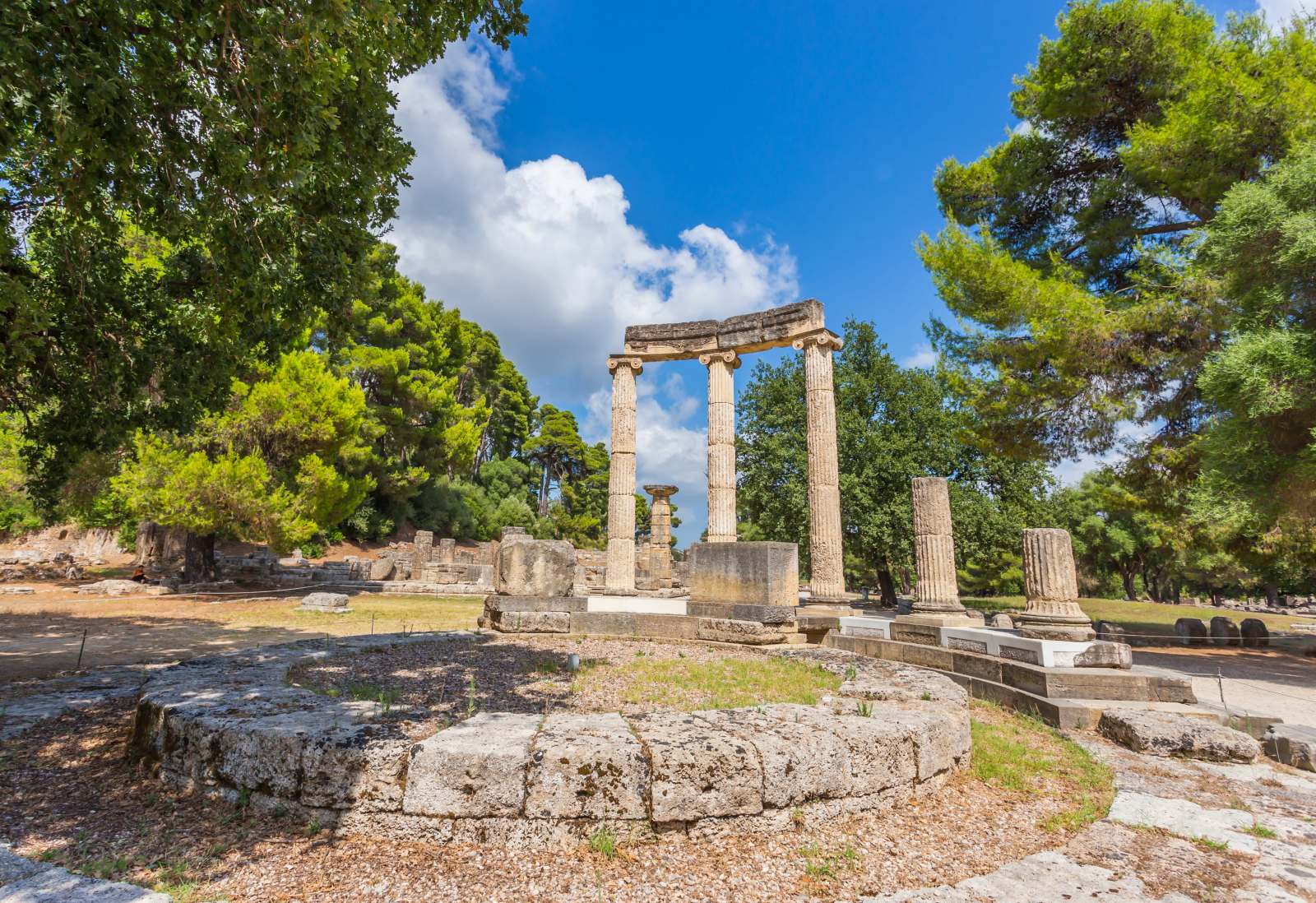 Ancient Olympia Destinations Tours in Greece Peloponnese Epos Travel Tours