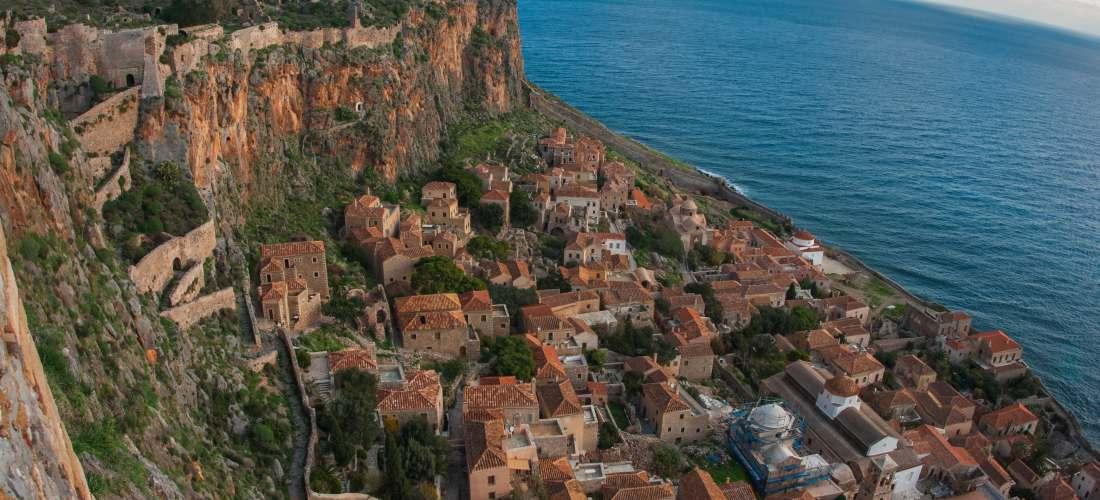 Monemvasia Destinations Tours in Greece Peloponnese Epos Travel Tours