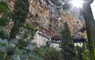Prodromos monastery Destinations Tours in Greece Peloponnese Epos Travel Tours