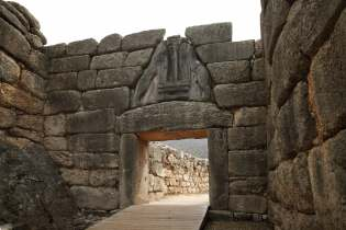 Mycenae Lions gate Destinations Tours in Greece Peloponnese Epos Travel Tours