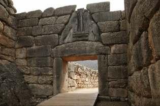 Mycenae Lions gate Destinations Tours in Greece Peloponnese Epos Travel Tours