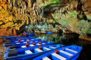 Diros Caves Destinations Tours in Greece Peloponnese Epos Travel Tours