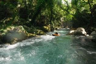 Trekking Rafting Lousios Destinations Tours in Greece Peloponnese Epos Travel Tours