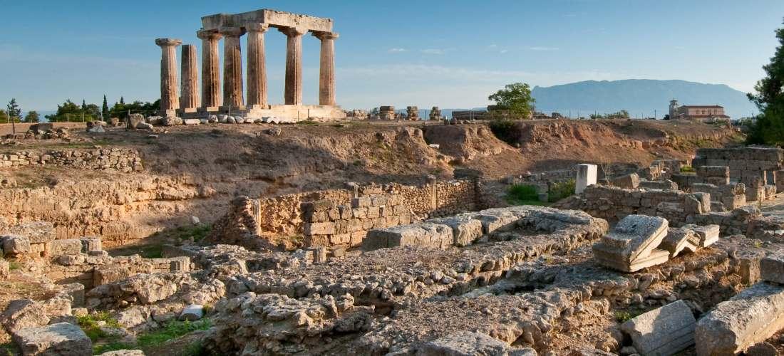 Ancient Corinth Destinations Tours in Greece Peloponnese Epos Travel Tours