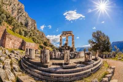 Delphi Delfi Destinations Tours in Greece Peloponnese Epos Travel Tours