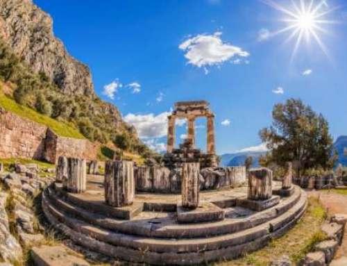 Ancient Greek Quotes – The 147 Delphic Maxims