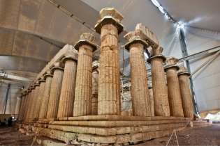Temple of Apollo Epicurious Destinations Tours in Greece Peloponnese Epos Travel Tours