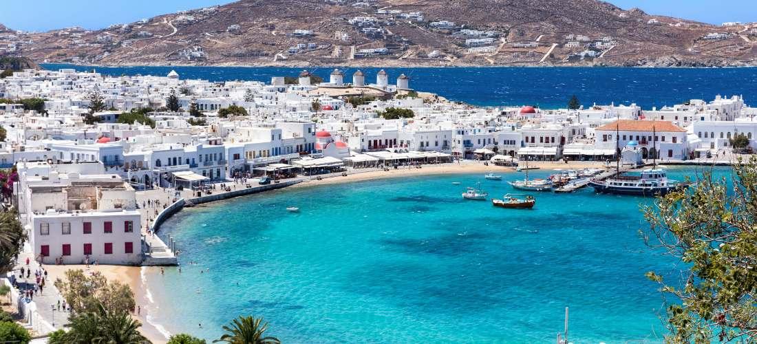 10days greek islands Trip Incredible Crete – Santorini – Mykonos