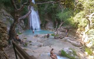 Neda waterfalls Destinations Tours in Greece Peloponnese Epos Travel Tours