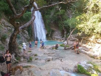 Neda waterfalls Destinations Tours in Greece Peloponnese Epos Travel Tours