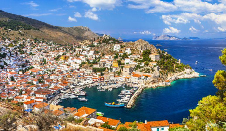 Port of hydra Saronic Destinations Tours in Greece Peloponnese Epos Travel Tours