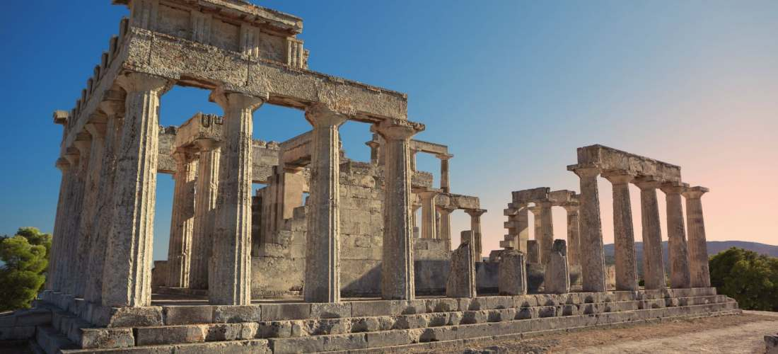 Aegina Temple of Aphaia Epos Travel Tours Destinations Tours in Greece Peloponnese Epos Travel Tours